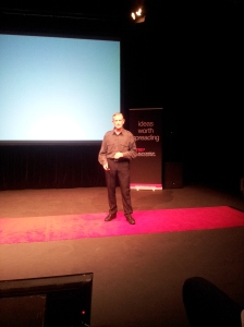 Derek Patton - child psychologist speaking at TEDx Launceston