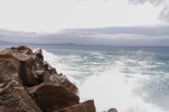 The remaining breakwater built by convicts, in 10 years of construction they built 30% of the desired length before abandoning the project and the gaol.